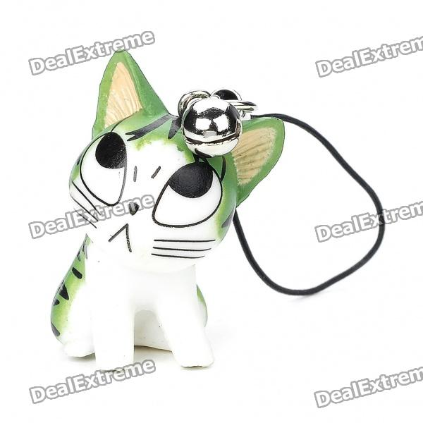 Cute Chi's Cartoon Figure Cell Phone Strap Set (12-Piece Pack)