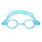 Cute Cartoon Style Swimming Goggle Glasses with Carrying Bag for Adults - Color Assorted