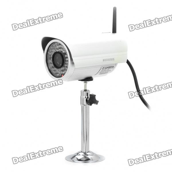 1/4 CMOS 300KP Waterproof WiFi Network Surveillance Wireless Camera w/ 60-IR LED Night Vision
