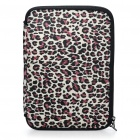Stylish Leopard Protective Soft Bag with Dual-Zipped Close for 10