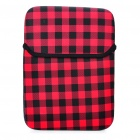 "Stilvolle Protective Soft Bag für 10 ""Laptop Notebook - Schwarz + Rot"