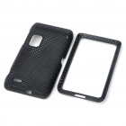 Protective Mesh Front + Back Case for Nokia E7/E7-00 - Black