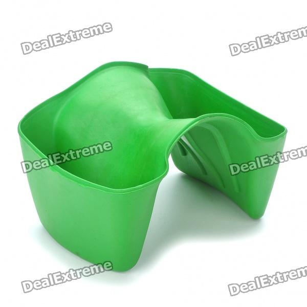 Borracha Anti-Slip peixe Catching Tool - Verde