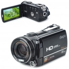 "5.0MP 1080P HD Digital Video Camcorder w/ 12X Optical Zoom/HDMI/TV/Dual-SD (3.5"" Touch LCD)"