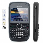 "JC-3T 2.0"" LCD Tri-SIM Tri-Network Standby Quadband GSM TV Cell Phone w/  FM - Black"