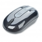 Genuine Rapoo 3300 Mini 2.4GHz Wireless 500/1000DPI USB Optical Mouse w/ Receiver - Black (1 x AAA)