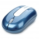 Genuine Rapoo 3300 Mini 2.4GHz Wireless 500/1000DPI USB Optical Mouse w/ Receiver - Blue (1 x AAA)