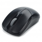 Genuine Rapoo 1090 2.4GHz Wireless 1000DPI USB Optical Mouse w/ Receiver - Black (1 x AA)