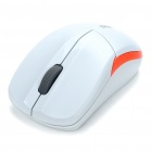Genuine Rapoo 1090 2.4GHz Wireless 1000DPI USB Optical Mouse w/ Receiver - White (1 x AA)