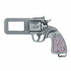Universal Gun Shaped Seat Belt Buckle Latch