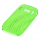 Mesh Protective PC Plastic Back Case for Nokia C7 - Green