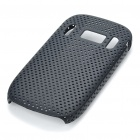 Mesh Protective PC Plastic Back Case for Nokia C7 - Black