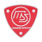 Stylish MAZDA SPEED Aluminum Alloy Car Decoration Sticker