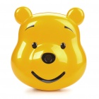 "F168 Cute Bear 1.8"" LCD Dual SIM Dual Network Standby Quadband GSM Cell Phone w/ Camera - Golden"