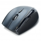 Genuine Rapoo 3900 2.4GHz Wireless 800 / 1600DPI USB Laser Mouse w / Receiver - Schwarz + Grau (1 x AA)