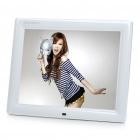 "10.4"" TFT LCD Digital Photo Frame with Remote Controller + USB/SD/MMC/MS Out - White (640 x 480px)"