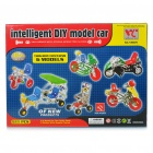 Intellectual Development DIY Metal Car Toy Assembly Kit