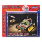 Intellectual Development DIY Metal Tank Toy Assembly Kit