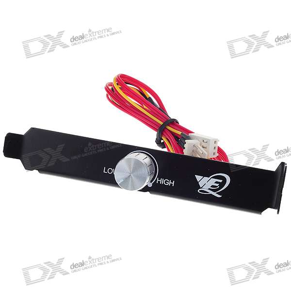 PC CPU Cooling Fan Speed Controller (Rear PCI Mount)