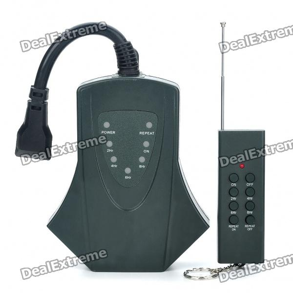 Wireless Remote Controlled 3-Outlet Down-Power Hub (110 ~ 125V) Graf