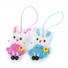 Cute Rabbit Style Cell Phone Straps (Pair/ Color Assorted)