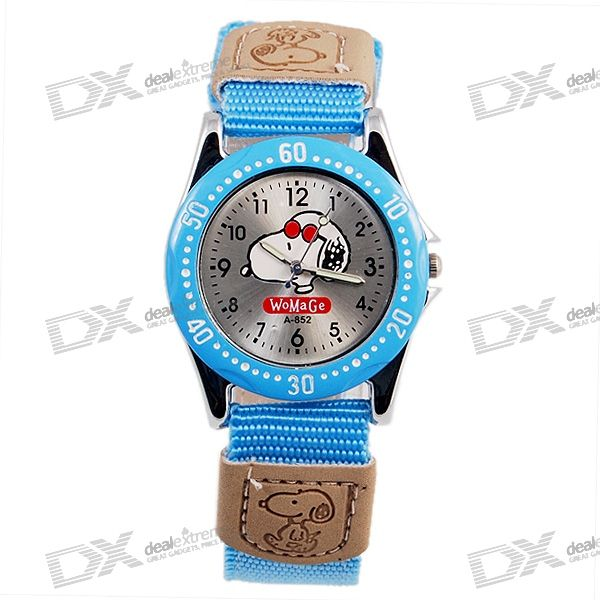 Snoopy Quartz Watch (Blue)