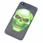 Protective PC Back Case with 3D Graphic for iPhone 4 - Skull