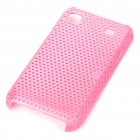 Mesh Protective PC Plastic Back Case for Samsung I9000 Galaxy S - Pink