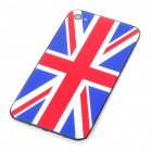 Stylish National Flag Style Replacement Plastic Back Cover Housing Case for iPhone 4 - UK