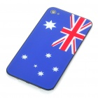 Stylish National Flag Style Replacement Plastic Back Cover Housing Case for iPhone 4 - Australia