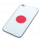 Stylish National Flag Style Replacement Plastic Back Cover Housing Case for iPhone 4 - Japan