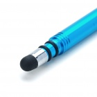 Stylus de Acero Inoxidable con Enchufe Anti-Polvo para Ipad / Ipad 2/iPhone 4 - Azul