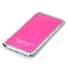 Stylish Replacement Metal + Plastic Back Cover Housing Case for iPhone 4 - Rose Red