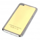 Stylish Replacement Metal + Plastic Back Cover Housing Case for iPhone 4 - Golden