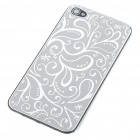 Elegant Replacement Metal + Plastic Back Cover Housing Case for iPhone 4 - Grey