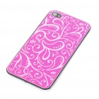 Elegant Replacement Metal + Plastic Back Cover Housing Case for iPhone 4 - Rose Red