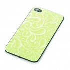 Elegant Replacement Metal + Plastic Back Cover Housing Case for iPhone 4 - Green