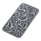 Elegant Replacement Metal + Plastic Back Cover Housing Case for iPhone 4 - Black