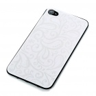 Elegant Replacement Metal + Plastic Back Cover Housing Case for iPhone 4 - Silver