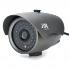 1/3 SONY CCD Waterproof Surveillance Security Camera with 36-LED Night Vision - Grey (DC 12V)
