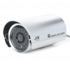 1/3 SONY CCD Waterproof Surveillance Security Camera with 36-LED Night Vision - Silver (DC 12V)