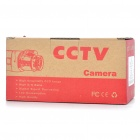 1/3 CCD Waterproof Surveillance Security Camera with 36-LED Night Vision - Silver (DC 12V)