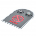 Anti-Slip Mat with Thermometer & Compass for Vehicles