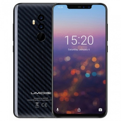 UMIDIGI Z2 Special Edition 6.2 Inches Notch Full Screen 4G Phablet Phone with Face ID 4GB+64GB