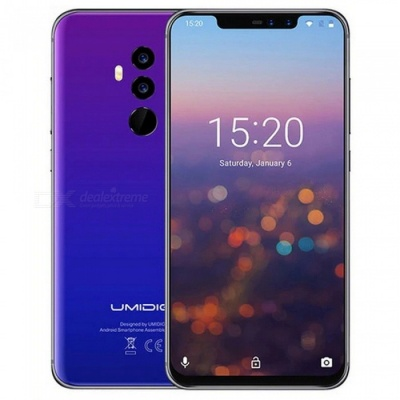 UMIDIGI Z2 Special Edition 6.2 inches Notch Full Screen 4G Phablet Phone, Face ID 4GB+64GB