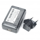 USB/AC Battery Charging Cradle + 1500mAh Battery + EU Adapter for BlackBerry 9000/9700