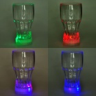 Plastic Cup with Multi-Color 6-LED Flashing Light (3 x AG13)