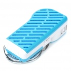 USB/4xAA Powered Mini Handy Cooler Air Conditioner - Blue + White