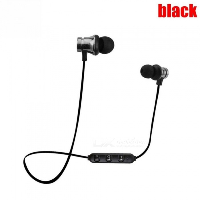 72f9625386c XT-11 Bluetooth Earphone Magnetic Wireless Sports Headset Bass Music Earbuds  Mic for Mobile Phones