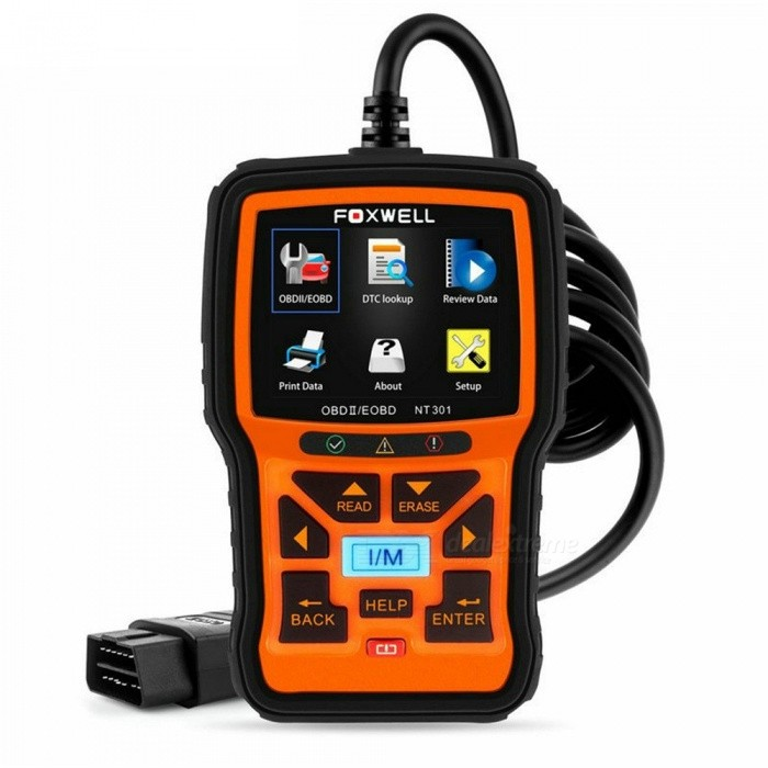 Automotive Scan Tool >> Foxwell Nt301 Obd2 Engine Universal Car Code Reader Diagnostic Tool